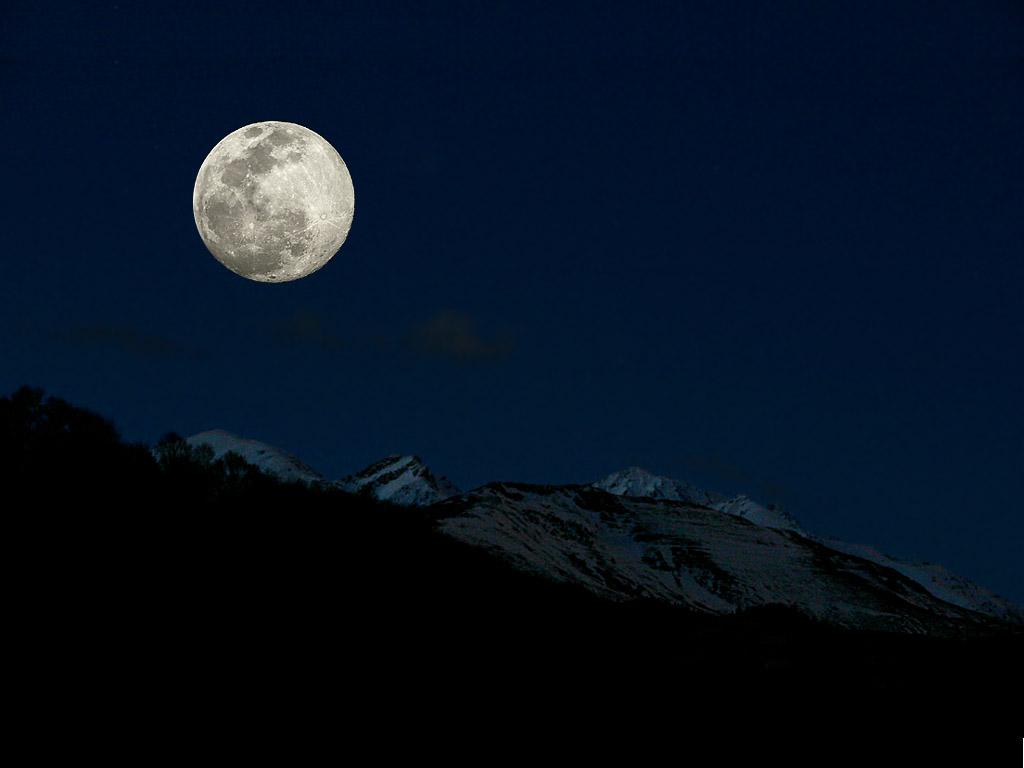La lune - Heure de lever et coucher de la lune ...